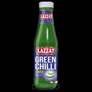 LAZZAT GREEN CHILLI SAUCE (330GR)