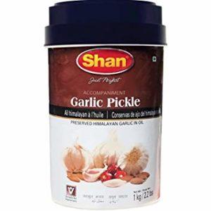 SHAN GARLIC PICKLE (1KG)