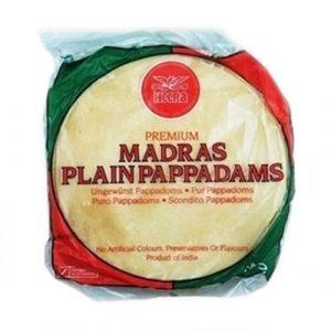 Heera Madras Plain Pappadams